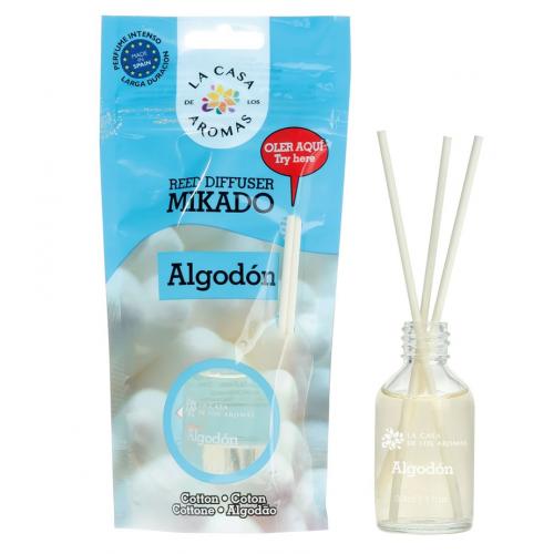 CASA DE AROMAS MIKADO ALGODÃO