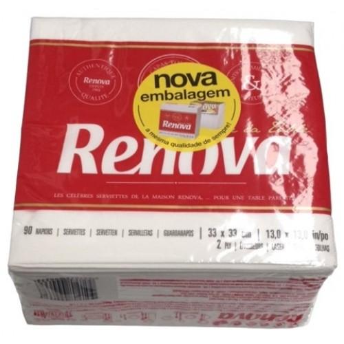 RENOVA GUARDANAPO ART TABLE FOLHA DUPLA PACK 90 UNIDADES 33*33 CM