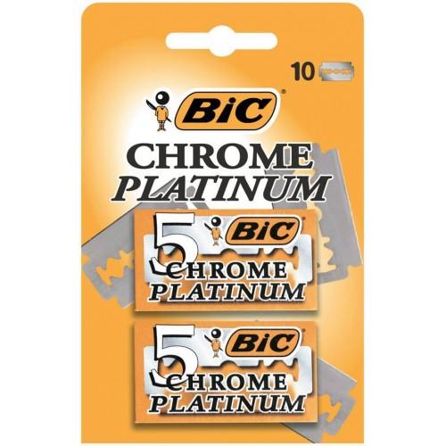 BIC CHROME PLATINUM PACK 5 + 5 LAMINAS
