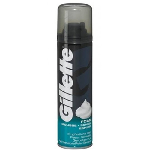 GILLETTE ESPUMA DE BARBEAR 200 ML SENSITIVE
