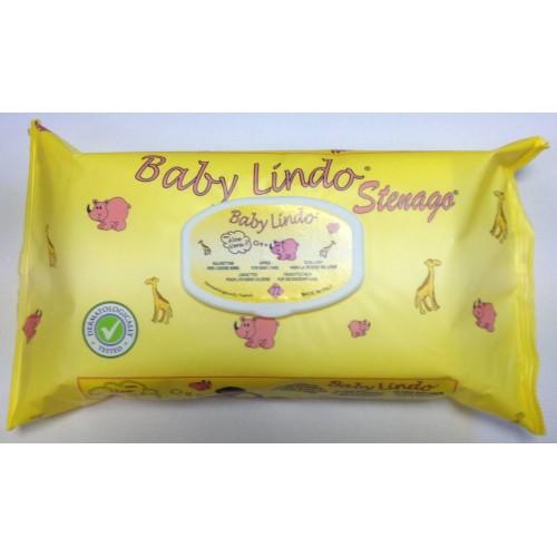 BABY LINDO TOALHITA HÚMIDAS ALOE VERA 72 UND