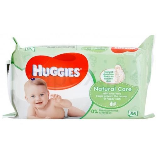 HUGGIES TOALHISTAS HÚMIDAS NATURAL CARE