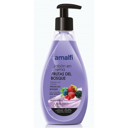 AMALFI SABONETE LIQUIDO 500 ML FRUTAS DO BOSQUE