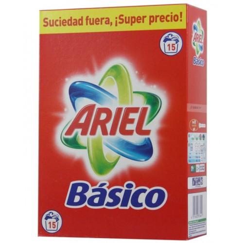 ARIEL DETERGENTE EM PÓ PARA ROUPA 15 DOSES