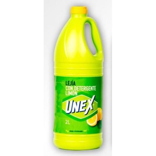 UNEX LIXIVIA 2LT COM DETERGENTE LIMÃO