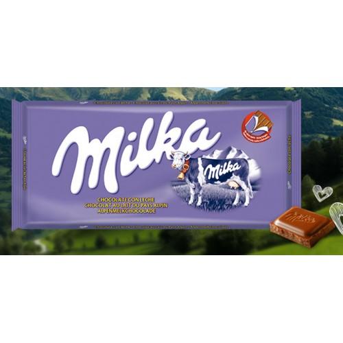 MILKA CHOCOLATE 100 G LEITE