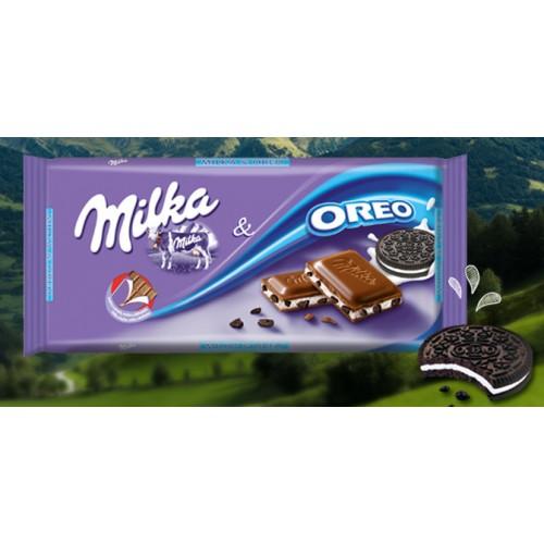 MILKA CHOCOLATE 100 G OREO