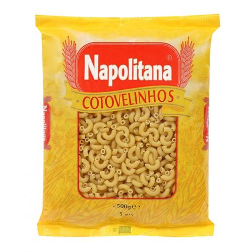 NAPOLITANA MASSA COTOVELINHOS 500GR