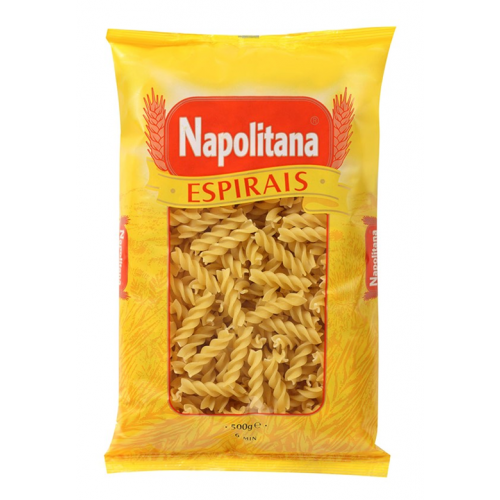 NAPOLITANA MASSA ESPIRAIS 500GR