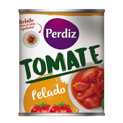 PERDIZ TOMATE PELADO 390GR