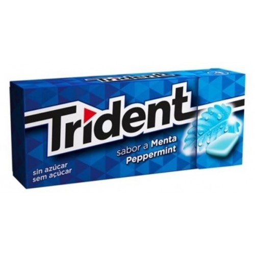 TRIDENT DRAGEA PEPPERMIN 14.5GR