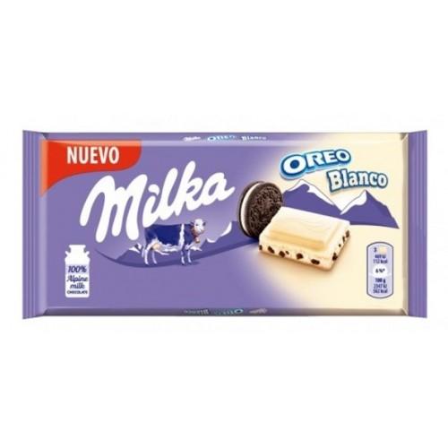 MILKA CHOCOLATE 100 GR OREO WHITE