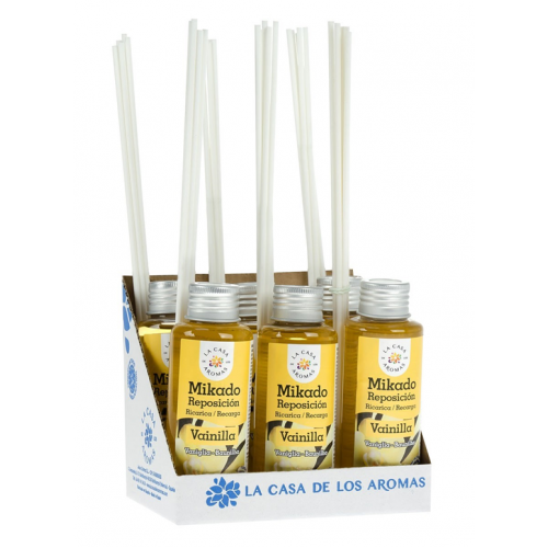 CASA DE AROMAS MIKADO 100ML BAUNILHA