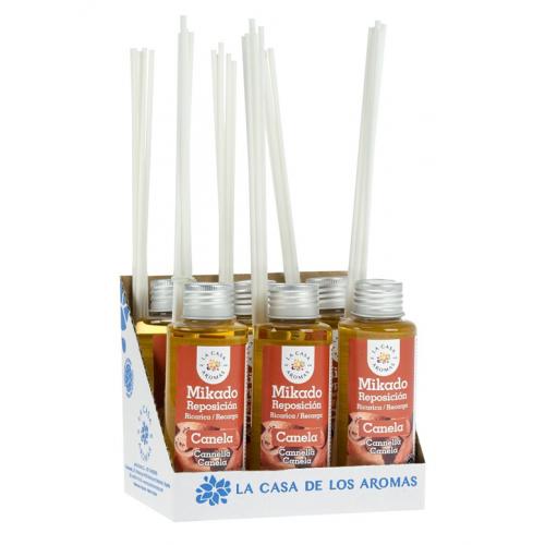 CASA DE AROMAS MIKADO 100ML CANELA