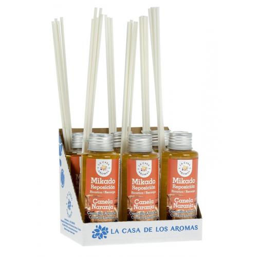 CASA DE AROMAS MIKADO 100ML CANELA LARANJA